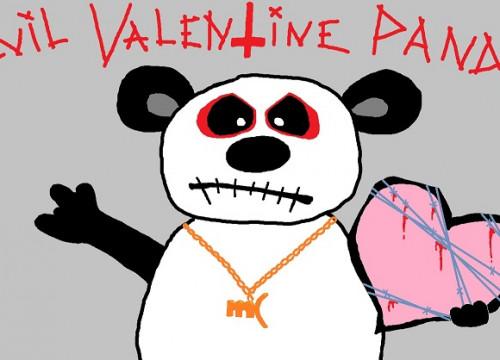 Evil Valentine Panda